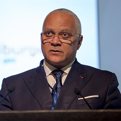 Hon Minister Jean-Marc Thystère Tchicaya
