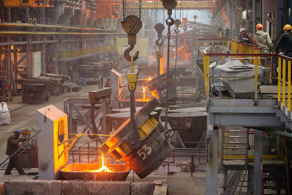 A $9.8bn cash injection is coming to the States' steel industry.