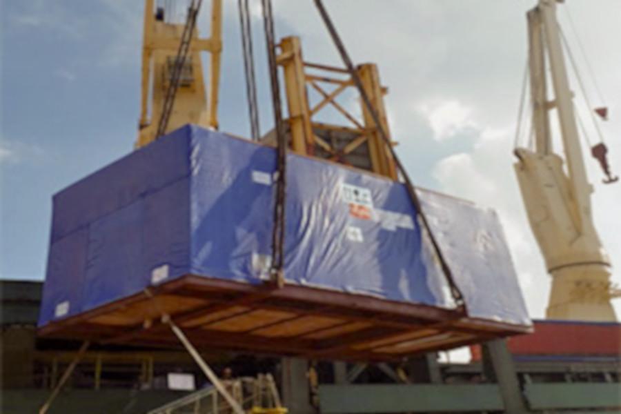 Breakbulk - EXG Delivers Tianjin Generator