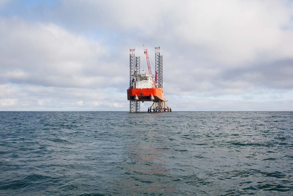Offshore oil & gas exploration is picking up throughout the Middle East.