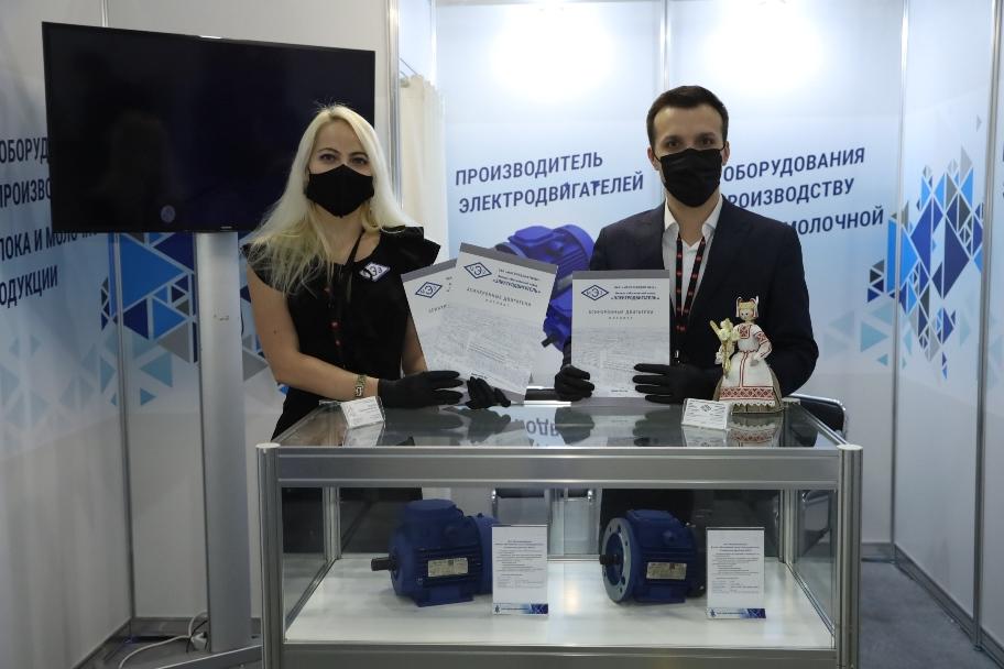 Производство электродвигателей - стенд Мослифтдревмаш