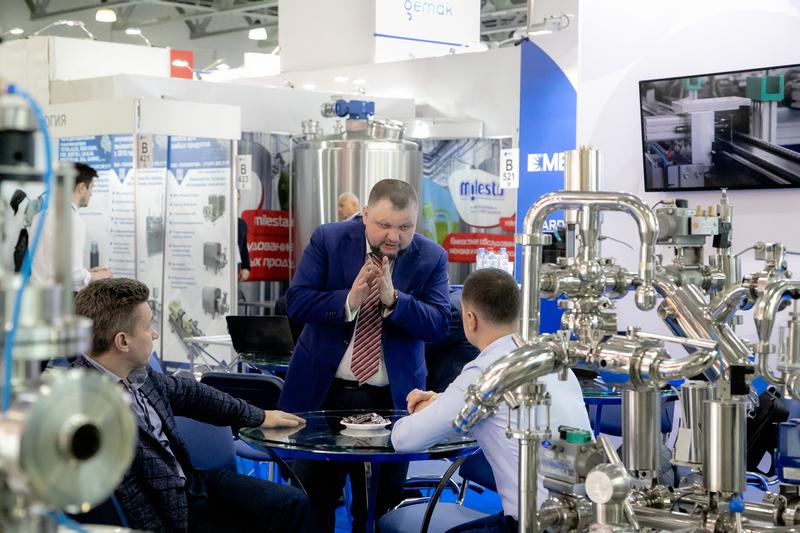 производства молочной продукции выставка DairyTech