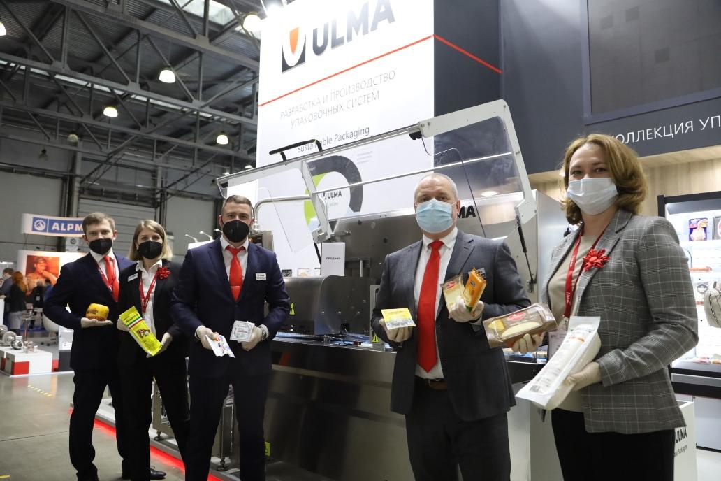 Ulma Packaging на выставке DairyTech 2021