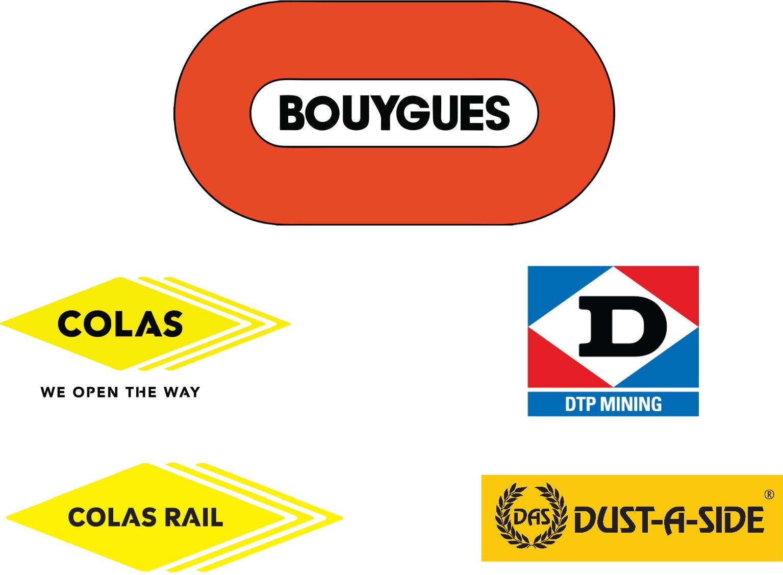 DTP MINING / COLAS / DUST-A-SIDE / COLAS RAIL