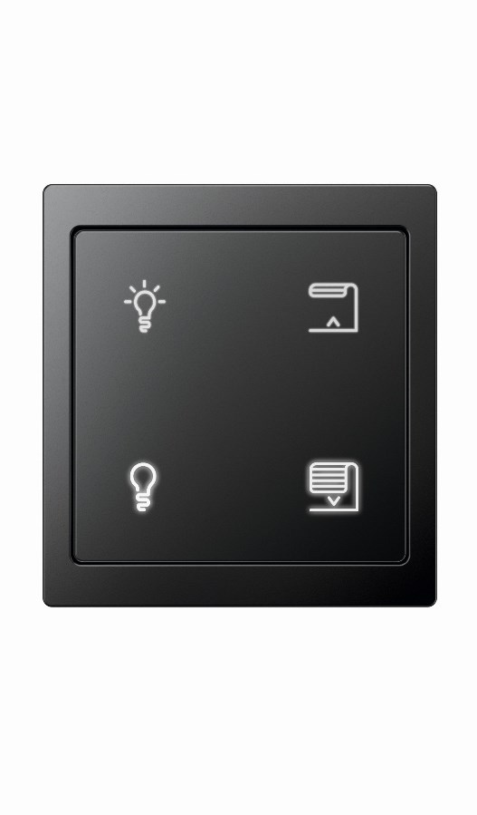 Выключатель Merten Push-button Pro