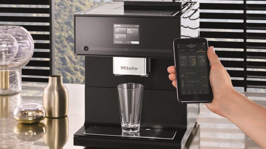 Кофемашина Miele - управление со смартфона