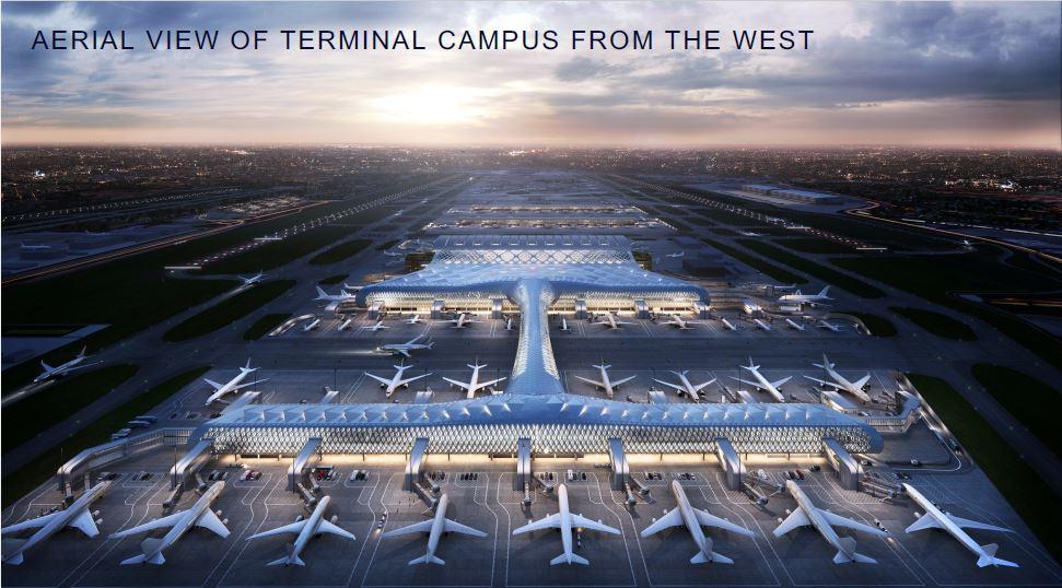 Heathrow aerial view