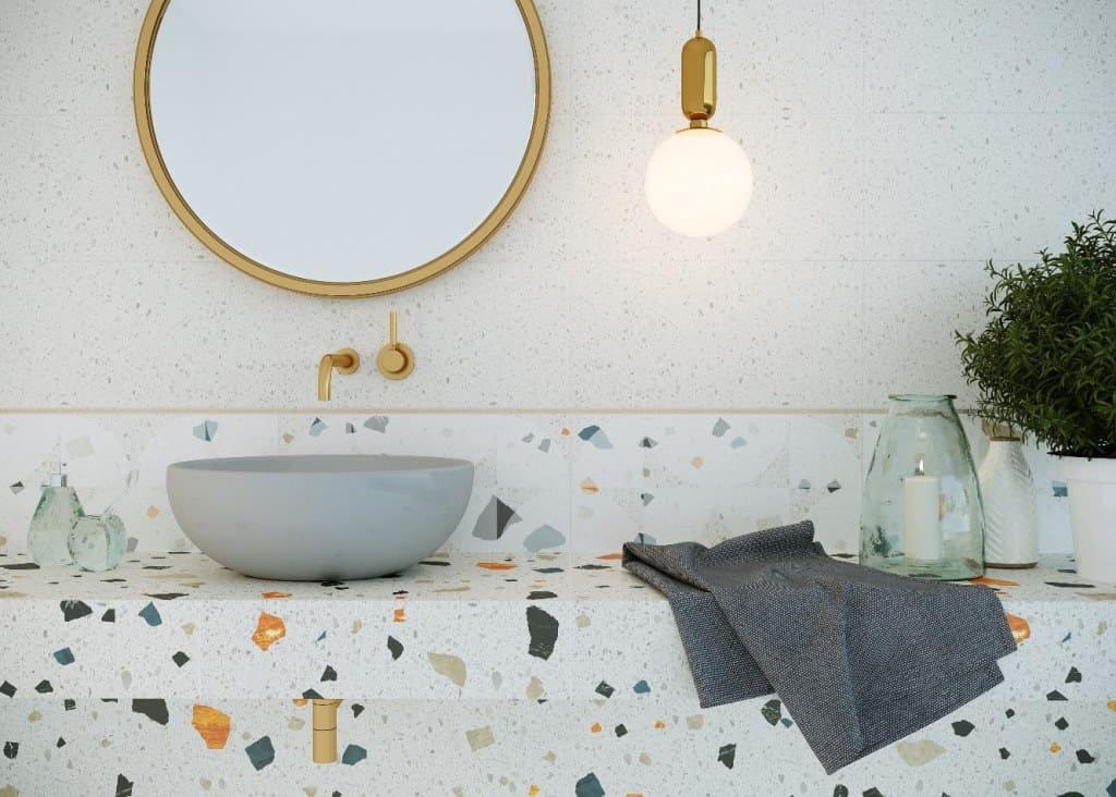 Мосплитка - отделка ванной комнаты
