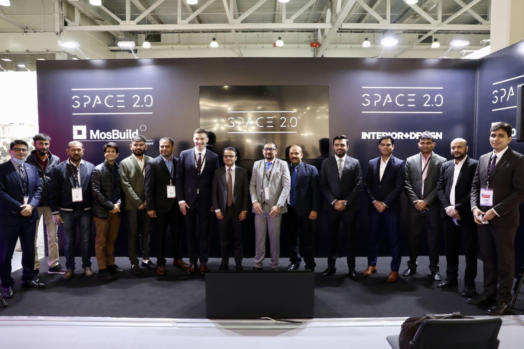Индийская делегация на MosBuild 2021