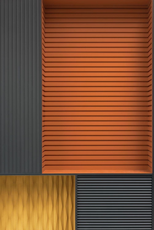 Стеновые объемные панели