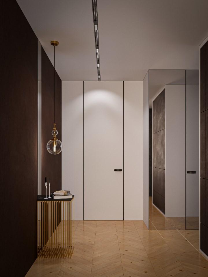 Gabitex - глянцевые белые двери
