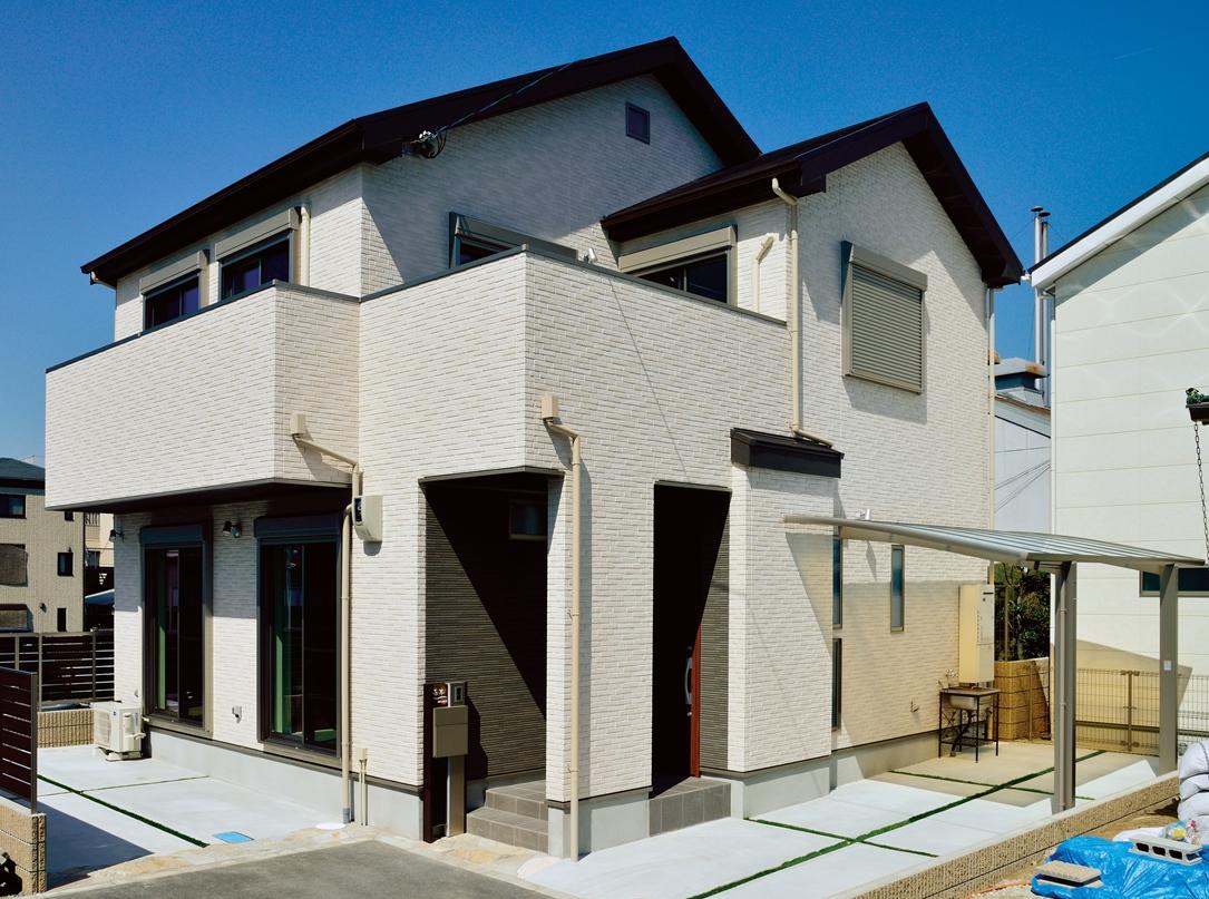 Отделка фасада - Konoshima