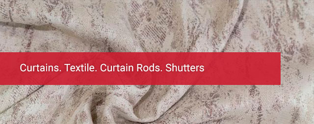 Curtains. Textile. Curtain Rods. Shutters