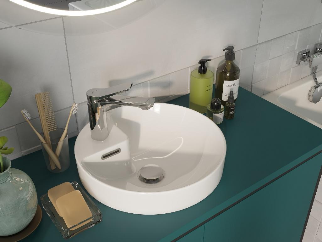 Мебель Botanique и белая раковина
