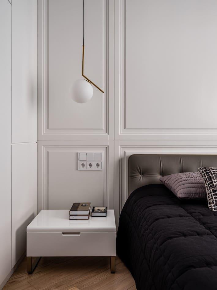 Спальня в апартаментах A+A