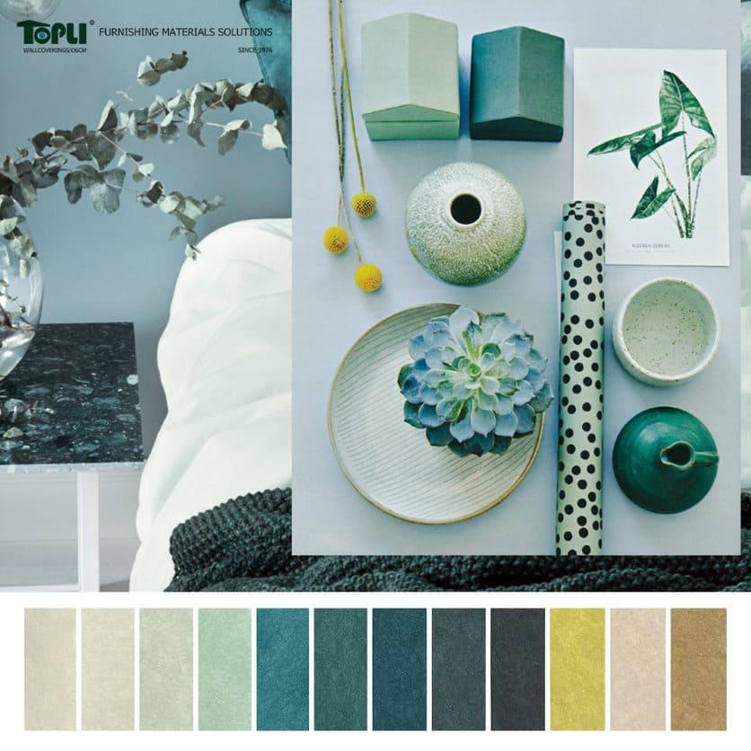 furnishing materials