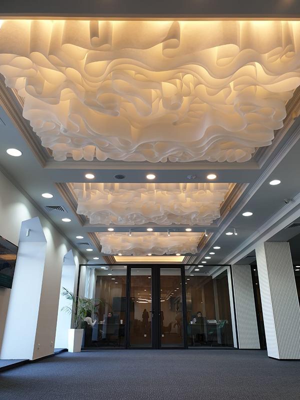 Потолочная система Wave® ceiling