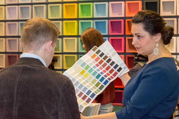 выставка красок