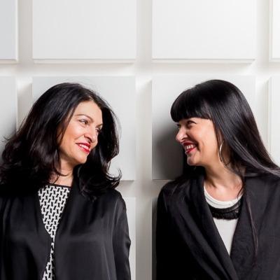 Ilona Menshakova and Irina Markidonova