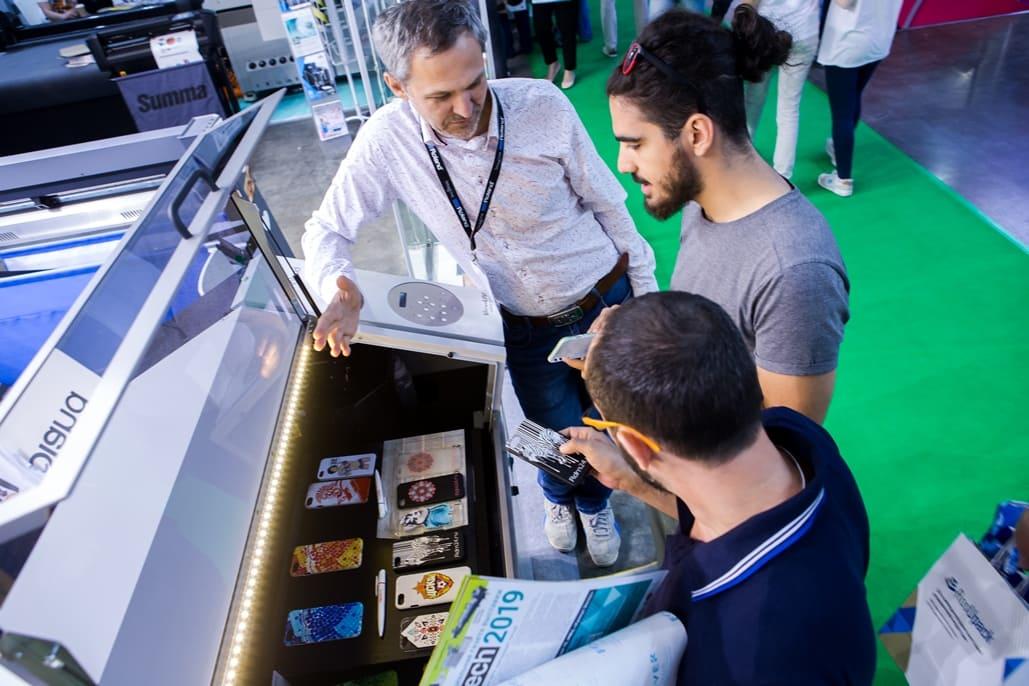 Выставка Printech - печатное оборудование