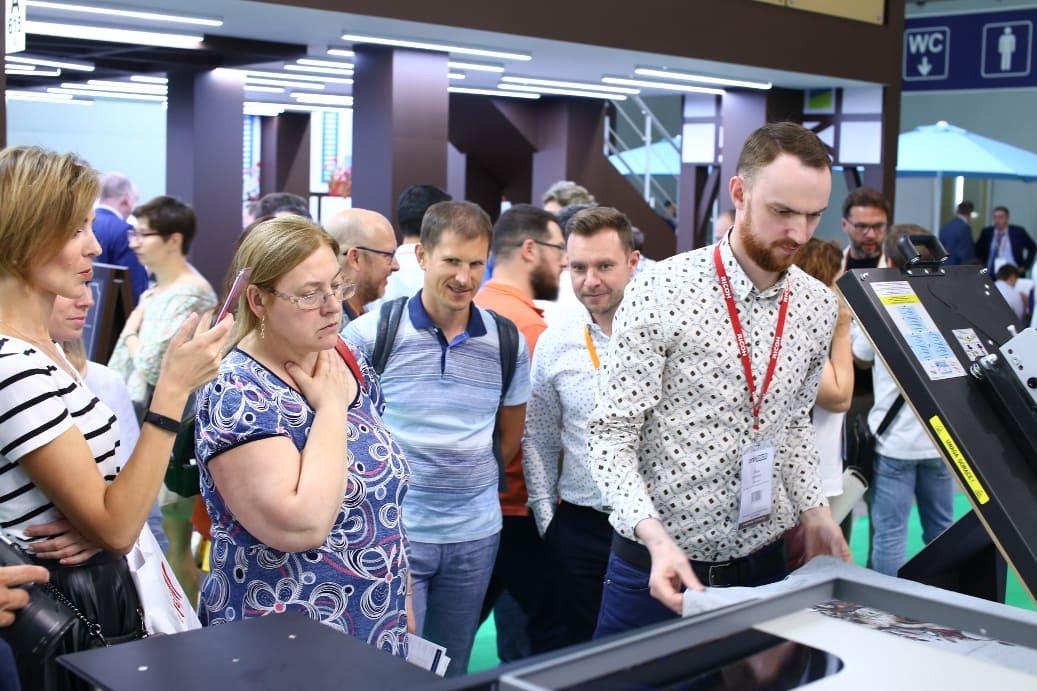 Работа на выставке Printech 2019