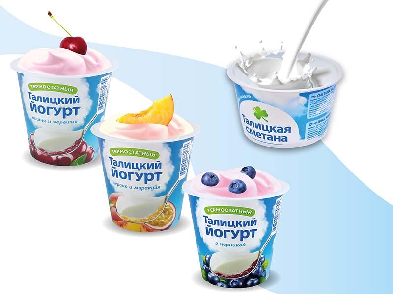 Термостатный талицкий йогурт - упаковка Перинт