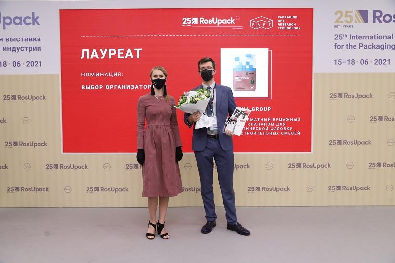 Лауреат премии PART Award 2021