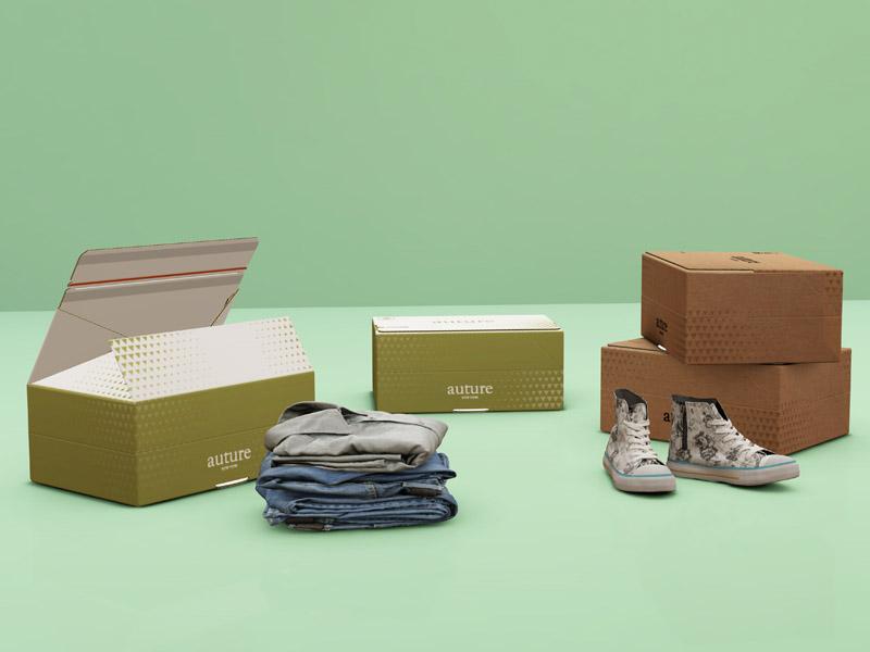 Упаковка для одежды и обуви
