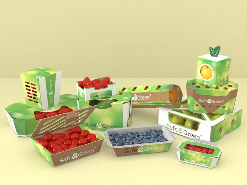 Упаковка для фруктов