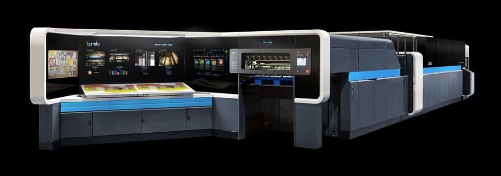 The Landa S10 Nanographic Printing Press