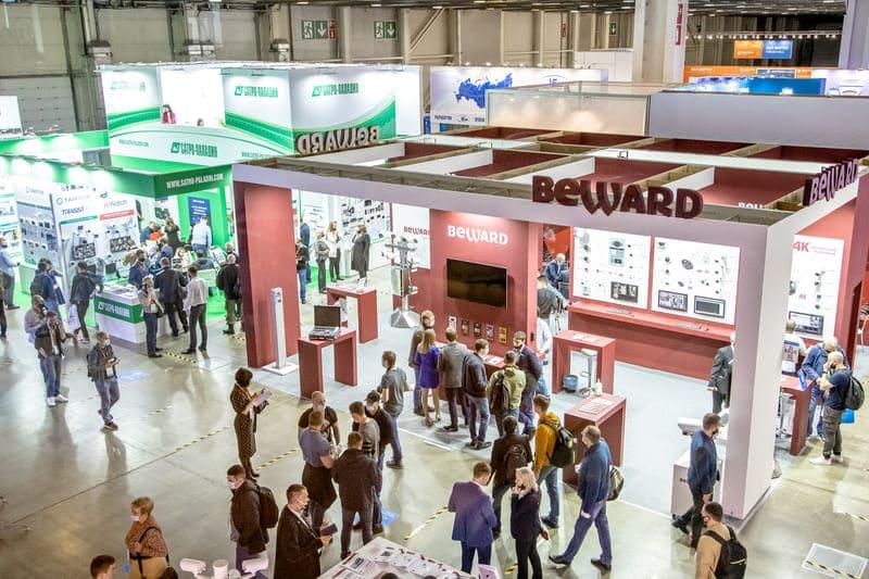 Beward, выставка Securika Moscow 2022