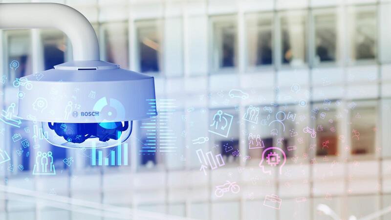 Мультисенсорные купольные IP-камеры Bosch FLEXIDOME multi 7000i