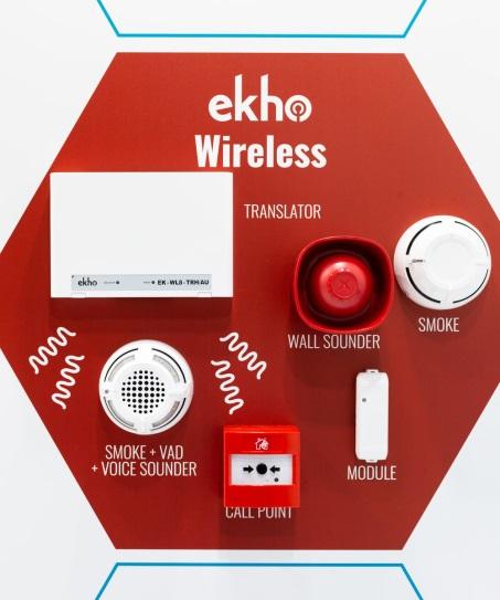Беспроводная пожарная система Ekho