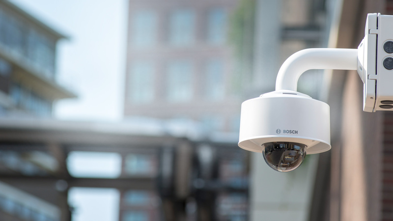 Умные IP-камеры Bosch, выставка Securika Moscow
