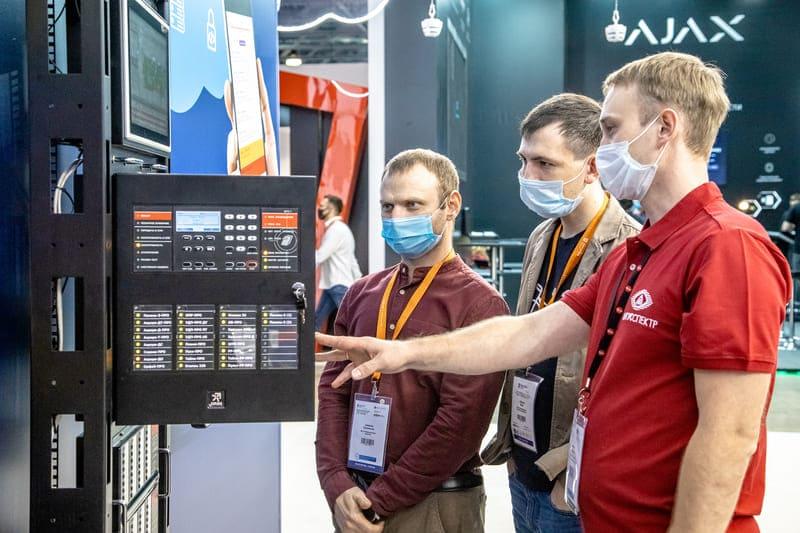 Выставка систем безопасности Securika Moscow 2022