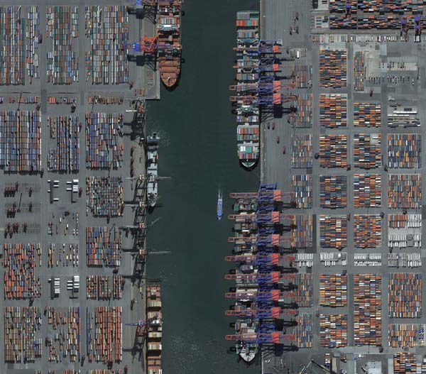 The Port of Antwerp handles millions of tons of Russian cargo a year.