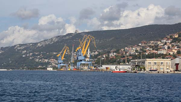 The Pots of Trieste & Monfalcone are gearing up to receive more freight from Russia.