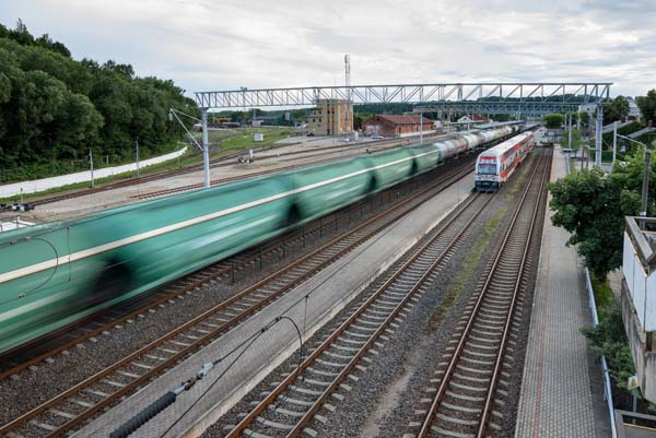 30%25 of Lithuanian Railways' business is in Russia
