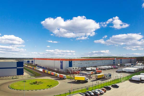 New warehouses are being built across Russia
