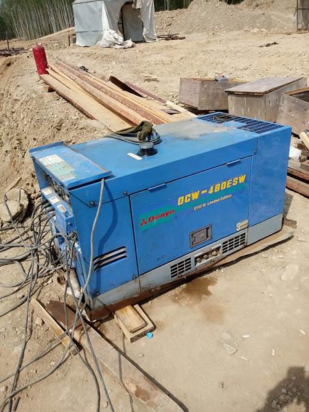 На фото2: Denyo DCW-480ESW нового поколения Evo III Limited Edition на строительстве объектов «Сила Сибири».