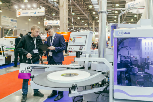 Woodex Moscow trade show