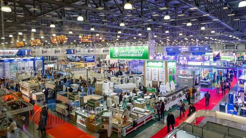 Выставка деревообработки в Москве Woodex