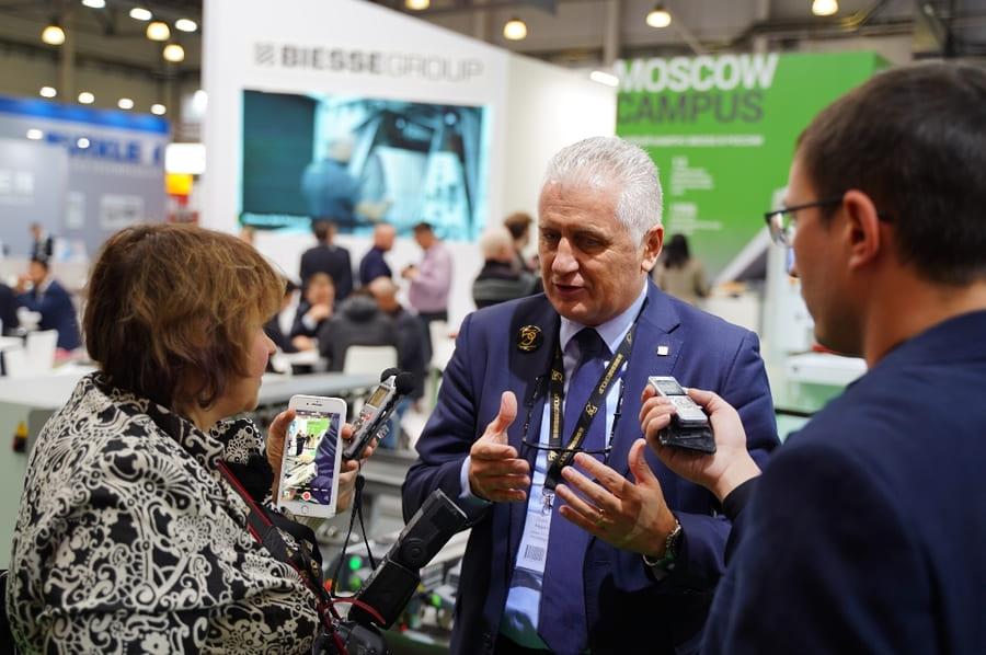 выставка оборудования для мебели Woodex 2021