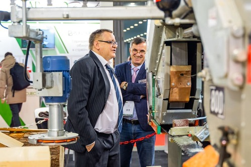 woodworking trade show Moscow, Russia, Woodex