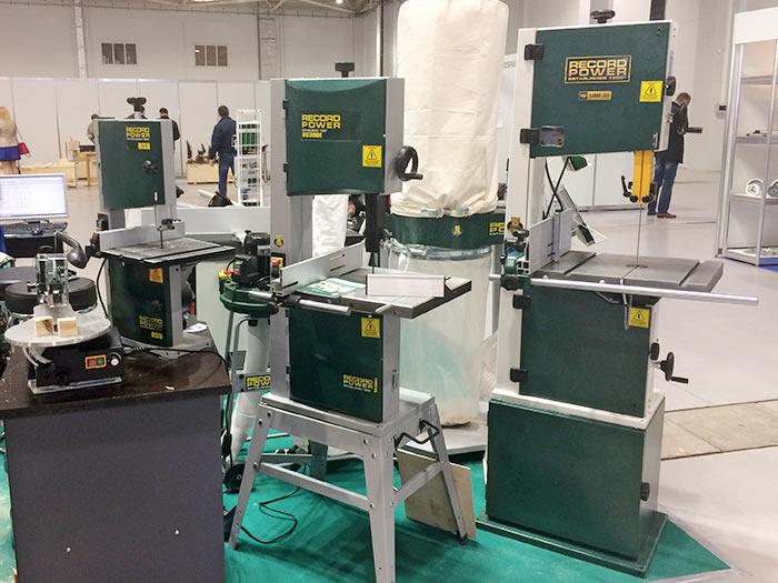 woodexpo - Record Power: оборудование для деревообработки
