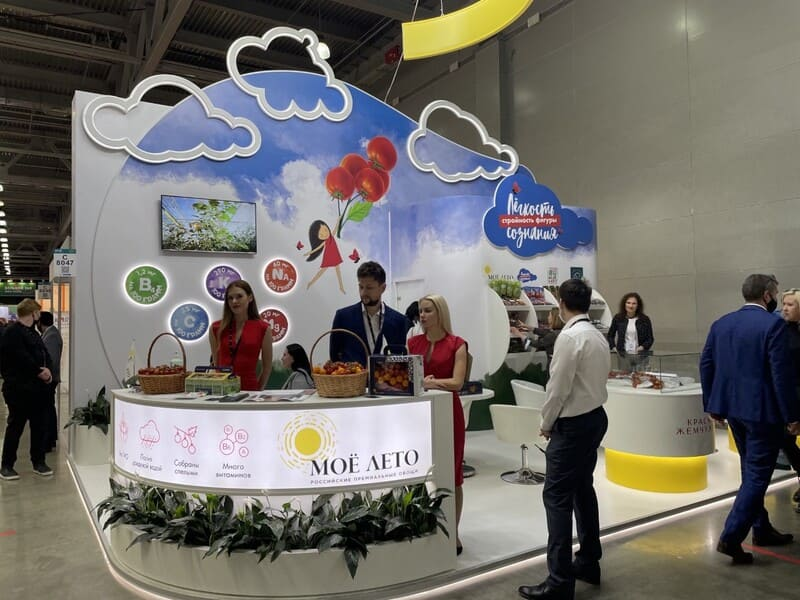 Выставка WorldFood Moscow