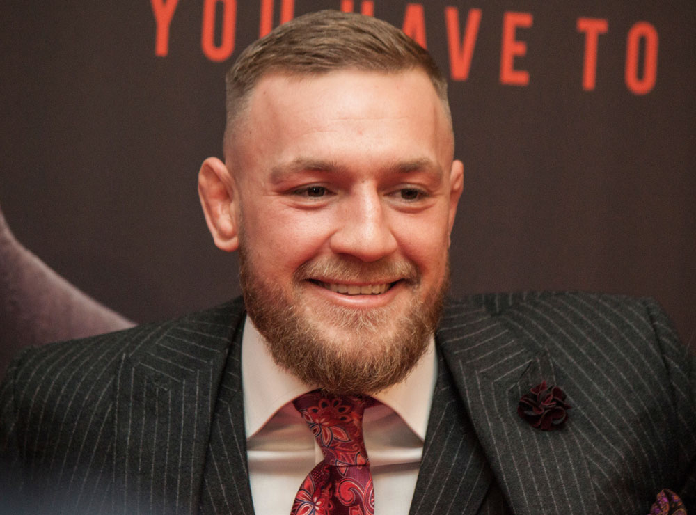 Former UFC lightweight champion Conor McGregor is bringing his whiskey to Russia.