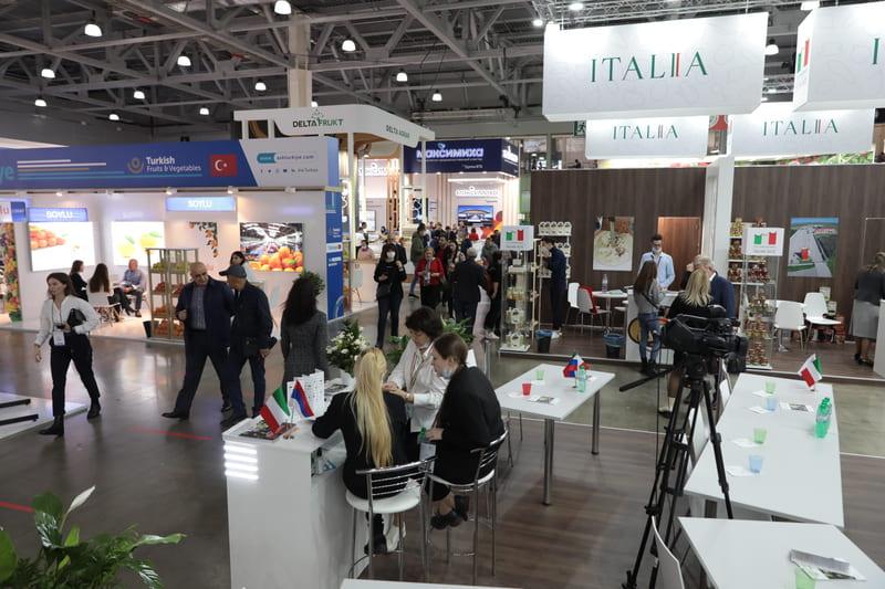 Продуктовая выставка WorldFood Moscow