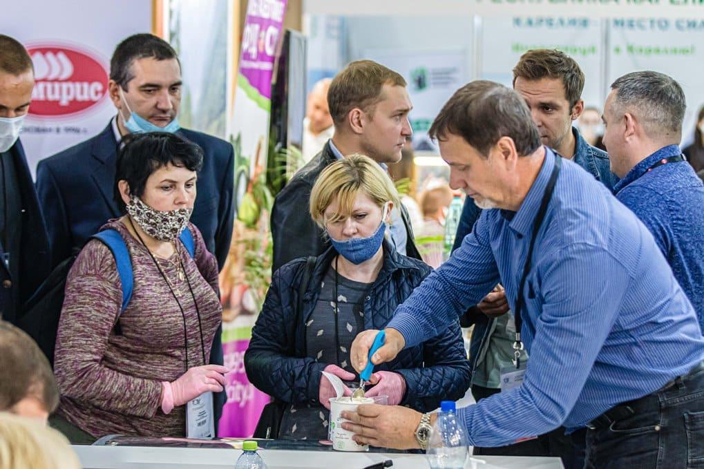 Демонстрация продуктов WorldFood Moscow 2021