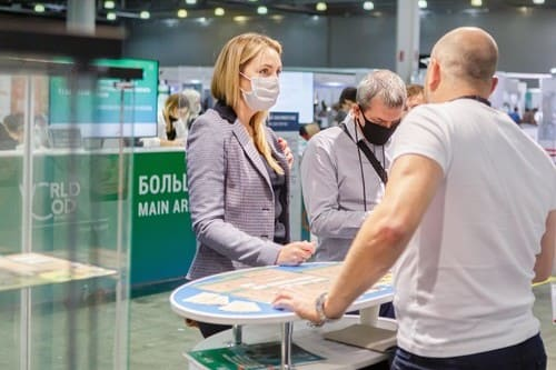 WorldFood Moscow 2020 - большой зал